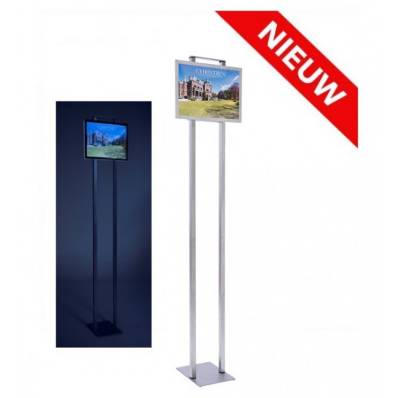 Combiled vrijstaande LED display 1x A3