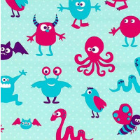 Cadeaupapier 'Monsters'