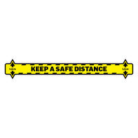 Pictogram 'Keep a safe distance'