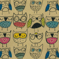 Cadeaupapier 'Happy Owls'