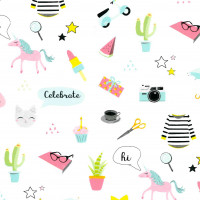 Cadeaupapier 'Cute gifts'